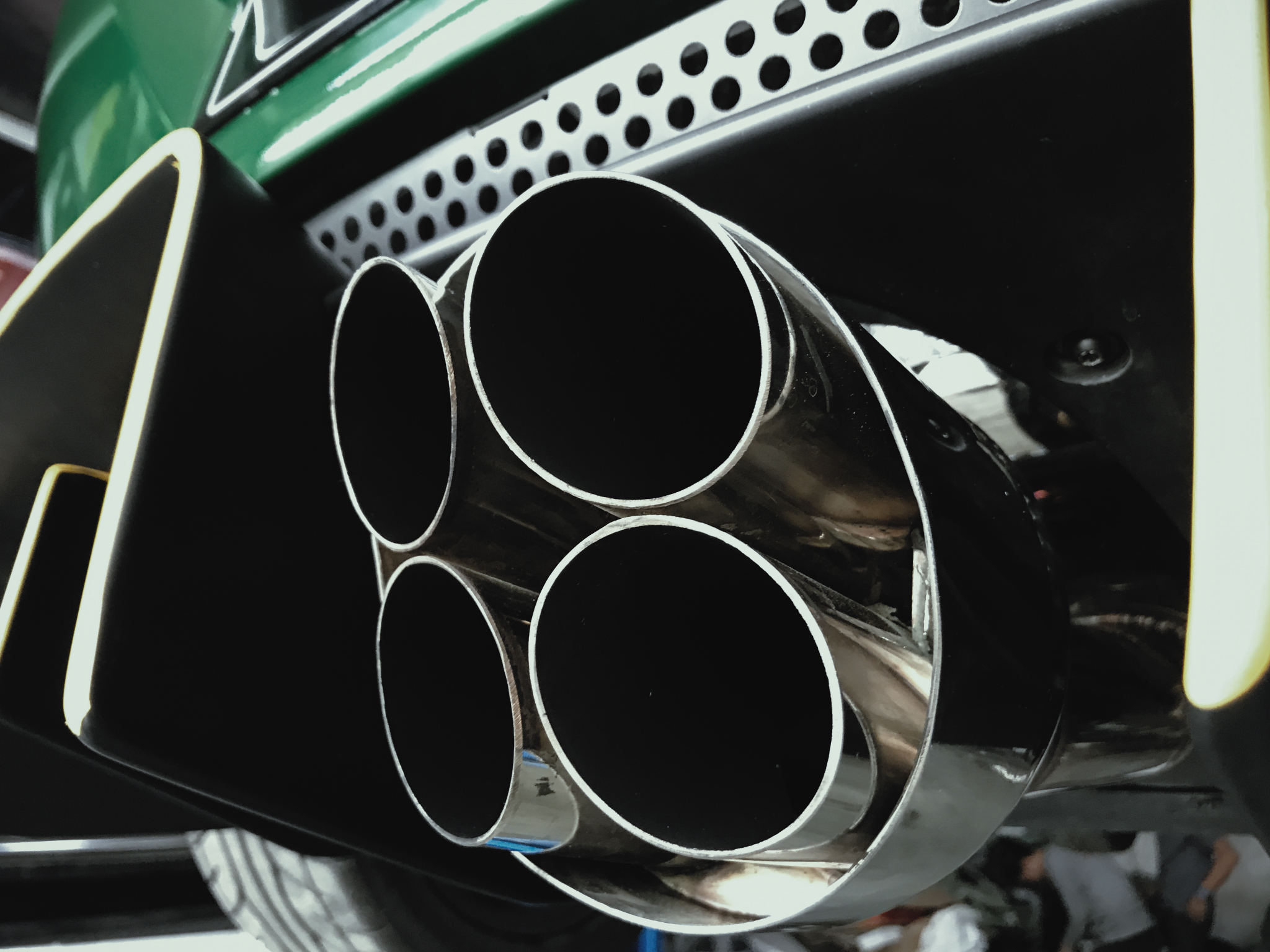 Lotus rocket inspired Exhaust System