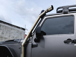 Jeep Rubicon's Unique Exhaust System