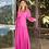 Thumbnail: Vestido longo crepe