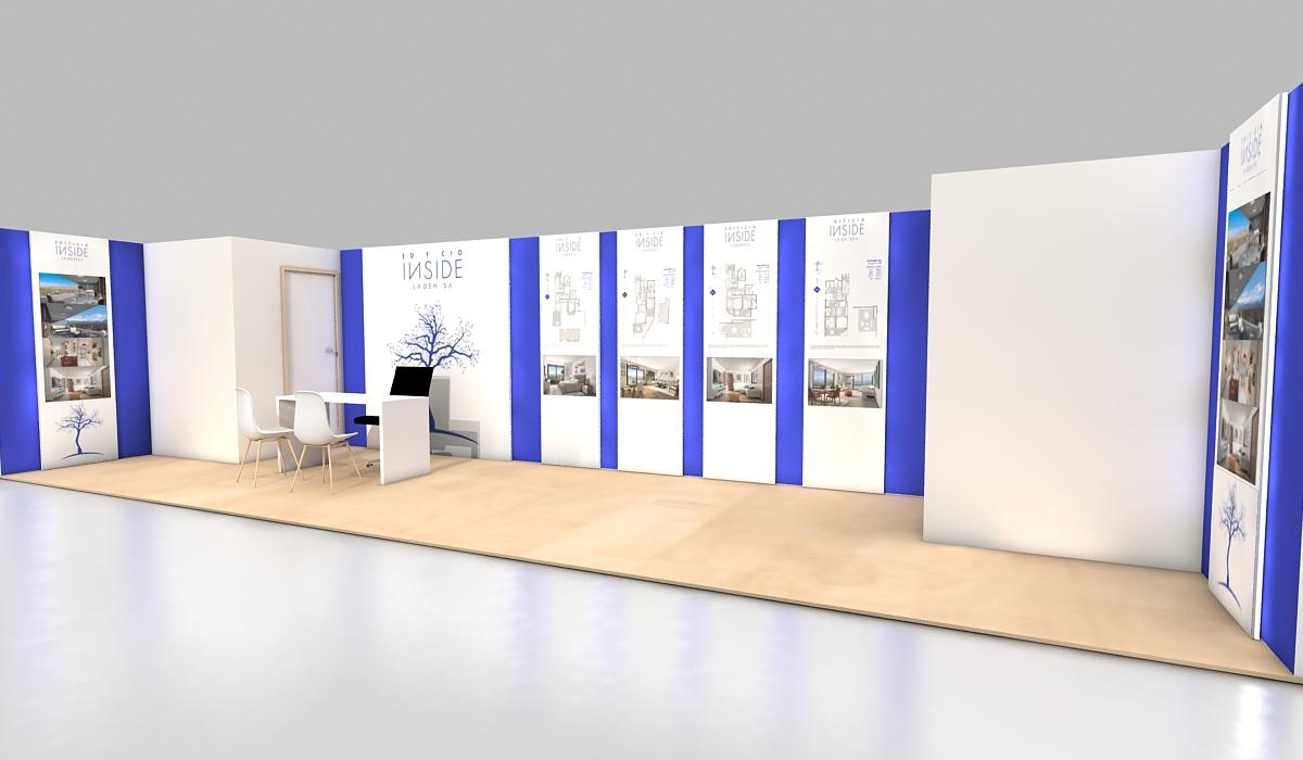 Diseño Gráficas Sala Ventas INSIDE