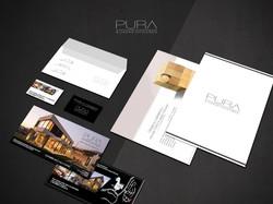 Diseño de Identidad Proyecto Pura