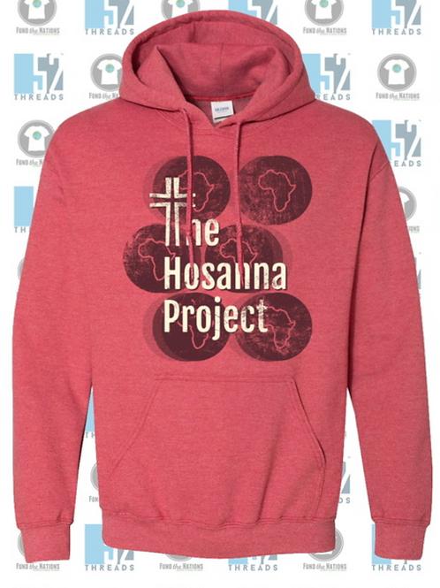 2020 THP Hooded Sweatshirt (Red)