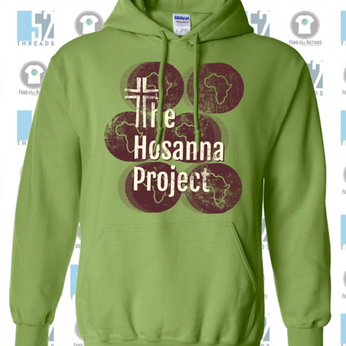 2020 THP Hooded Sweatshirt (Green)