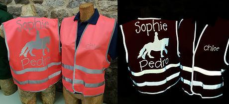 hi vis horse riding vests Hoody Marvelou