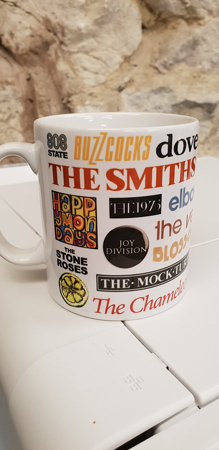 manchester bands music cup by hoody marv