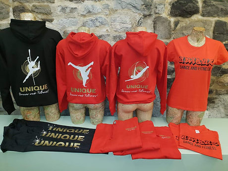 Unique Dance and Fitness Burnley Hoody M