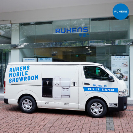 Get a Whole New Experience with Ruhens' Mobile Showroom!