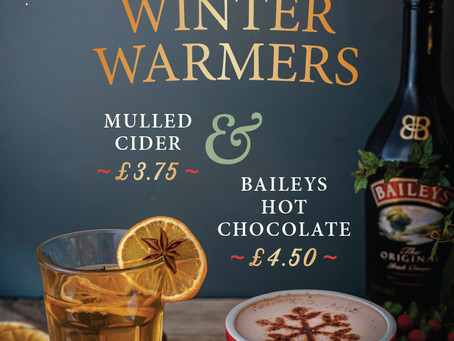 Winter Warmers Now Available