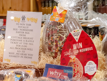 WIN! An Egg-normous Easter Egg