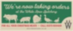 WhiteRow Xmas2018 ButcheryBanner FINALPR