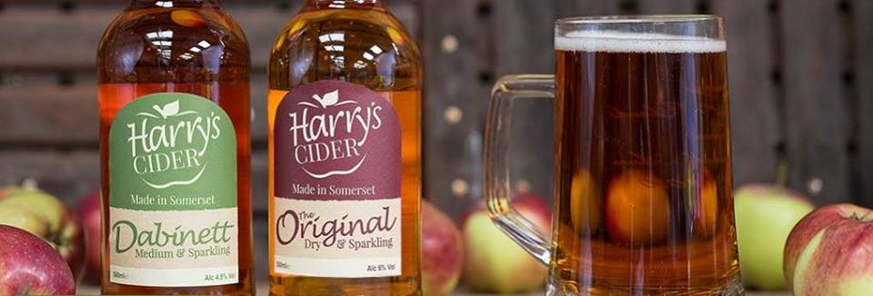 Harry's Cider made in Somerset