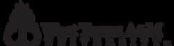 black WT Stacked Logo