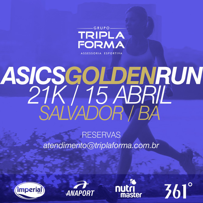 Asics Golden Run Salvador