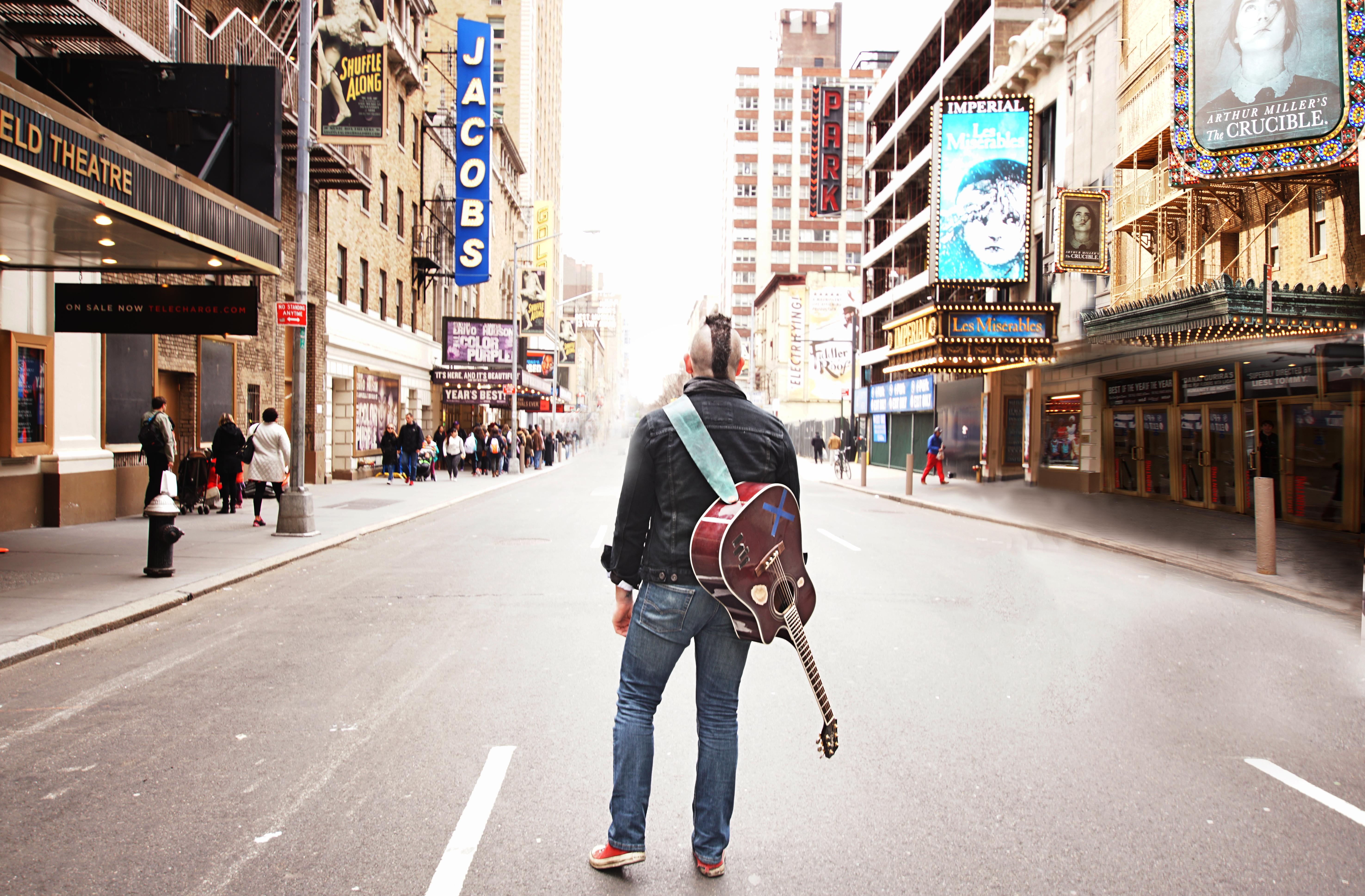 Busking Broadway