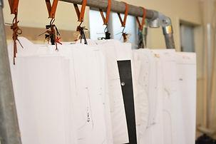 手作り革鞄工房・型紙ラック