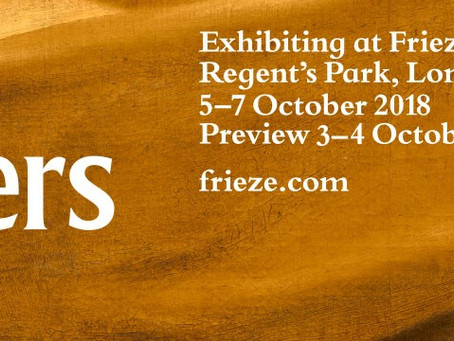 Frieze Masters 2018 –COLLECTIONS- 2018.9.27