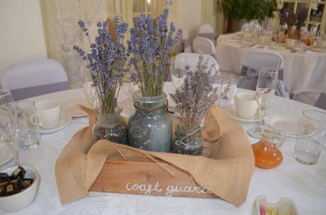 Hartman's Lavender Centerpieces