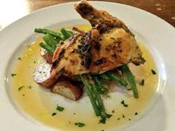 Airline chicken with Fine Herb Cream Sauce