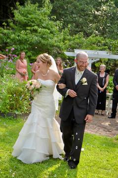 Hartman's Herb Farm Garden Wedding