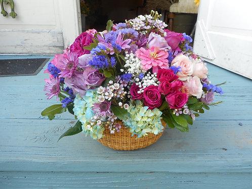 Fresh Flower Basket