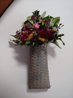 Hanging Dried Floral Arrangement