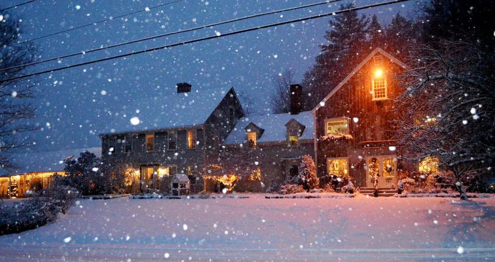 Winter Wonderland at Hartman's B&B
