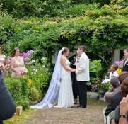 Garden Ceremony at Hartman's