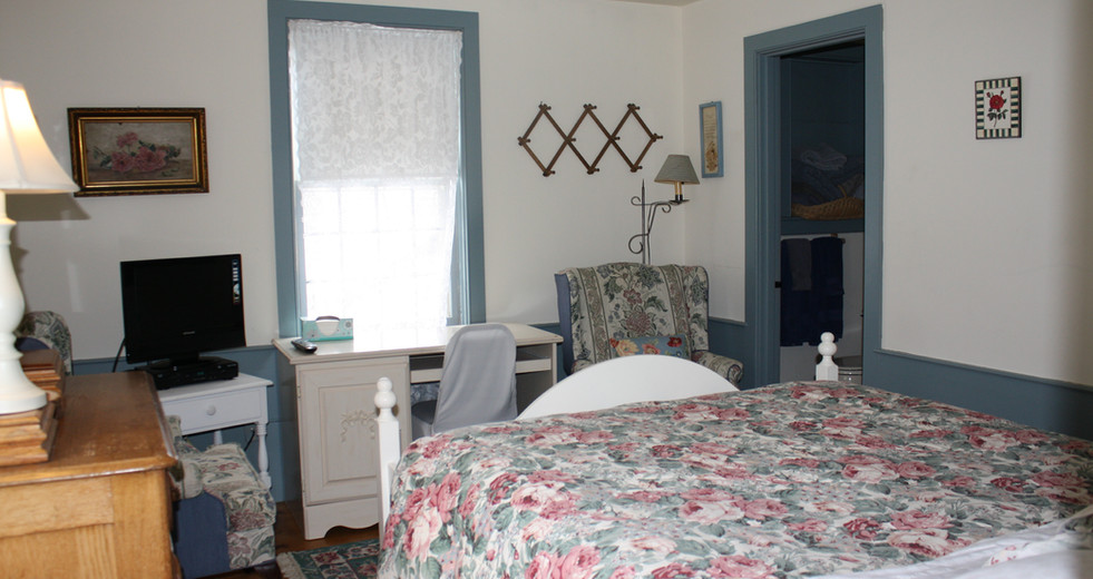 Blue Room at Hartman's B&B