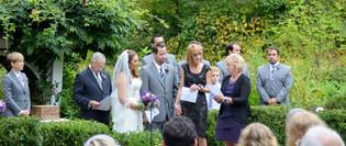 Ceremony in the Garden at Hartman's