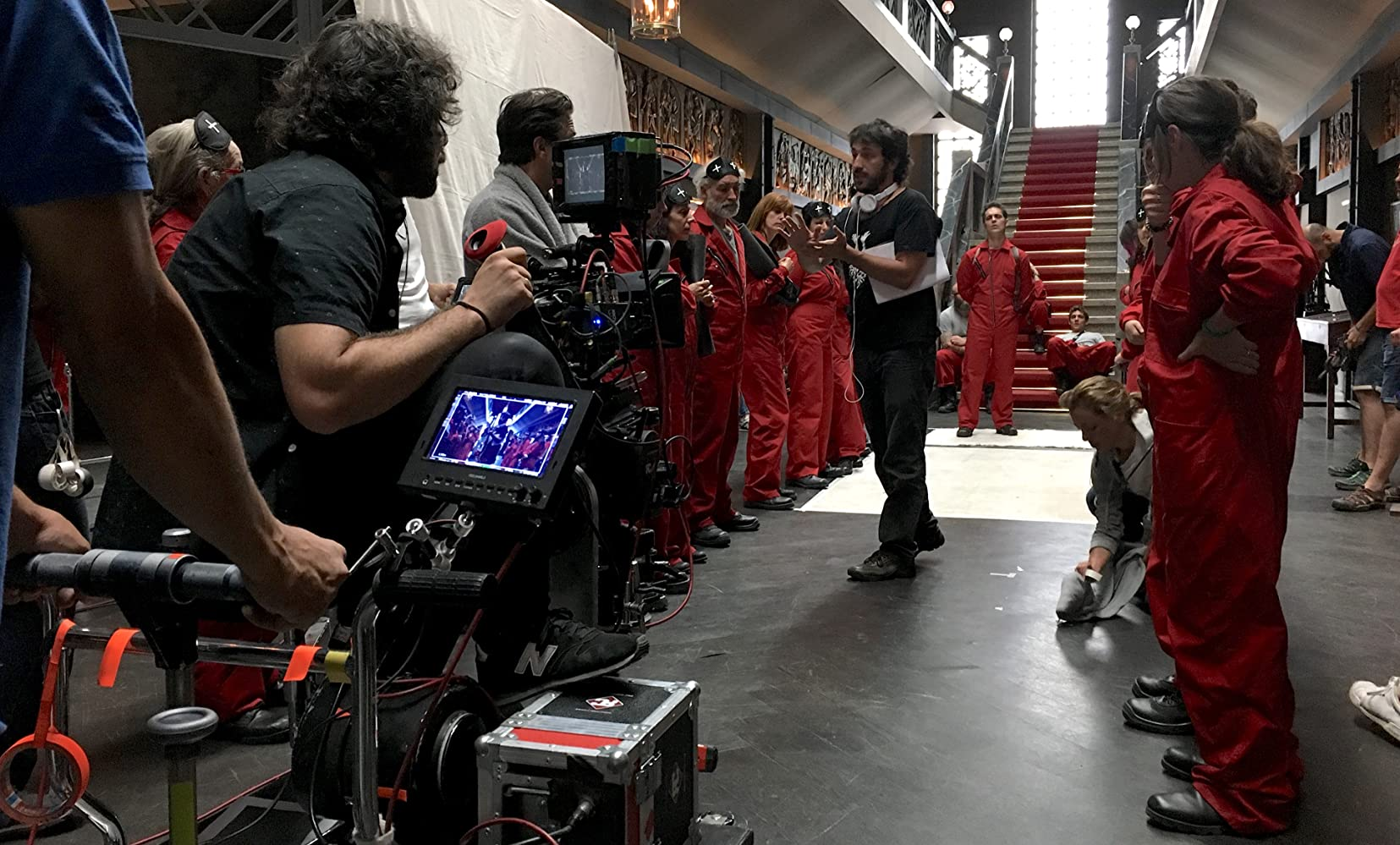 Making of - LA CASA DE PAPEL