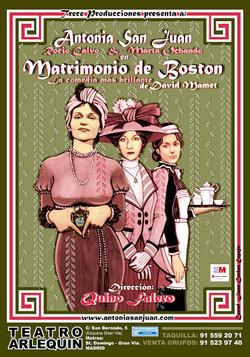 MATRIMONIO DE BOSTON