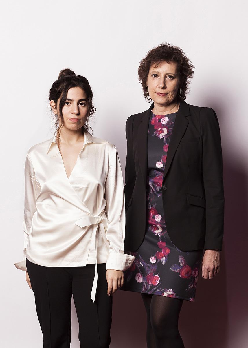 Irene Moray & Miriam PorteÌ