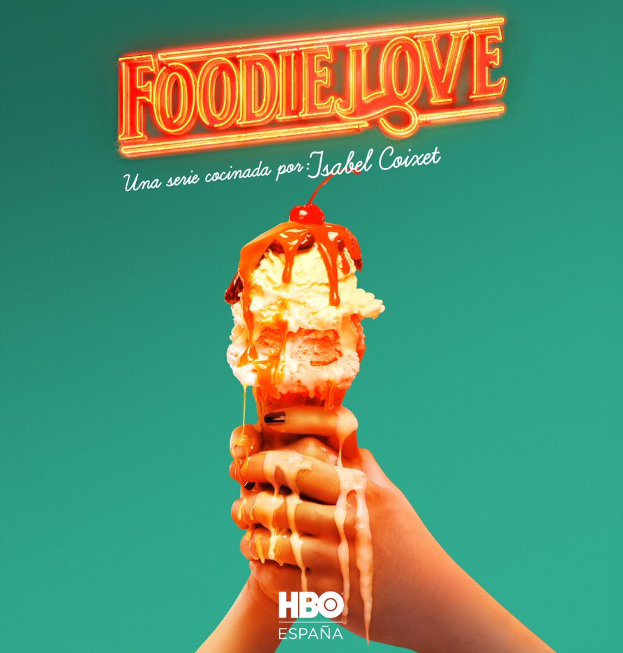 POSTER FOODIE LOVE