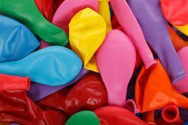 empty balloons