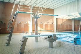 Pool with Diving Boards