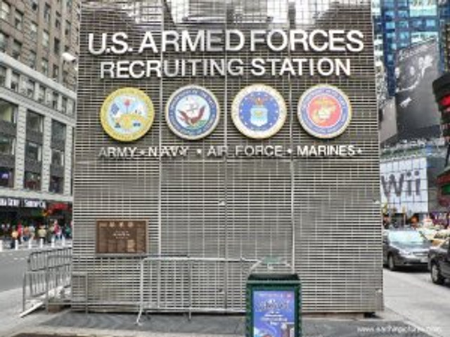 armed service recruiting