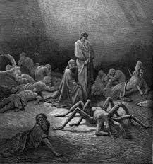 Dante's Purgatory depicted. Notice no saints like Teresa.
