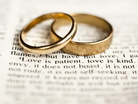 2 Corinthians 8:7-15 - A marriage that makes Jesus one's Lord, as a Christ resurrected within