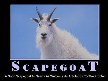 Jesus was not a scapegoat