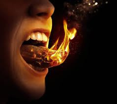 tongues afire