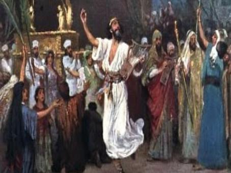 2 Samuel 6:1-5, 12b-19 - Bringing the Groom to the bride
