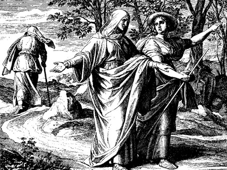 Psalm 146 - Praising Yahweh as a reflection on Naomi and Ruth