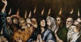 """Becoming Apostles: """"They saw what seemed to be tongues of fire that separated and came to rest on each of them."""" Acts 2:3"""