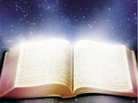 The epiphany of Scripture transfiguring before your eyes