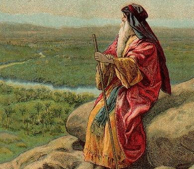 The offer by Moses to the Israelites