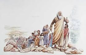 Number one son, Israel, led by Moses after God called.