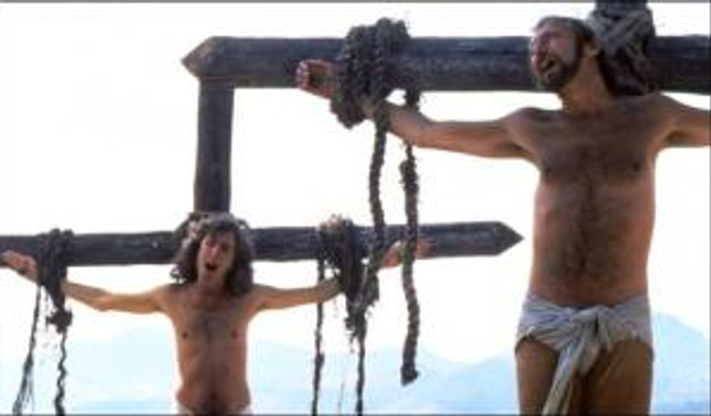 If you believe he did say that, then Golgotha is as serious as this movie.