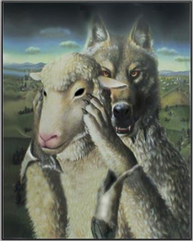 wolf in sheepskin