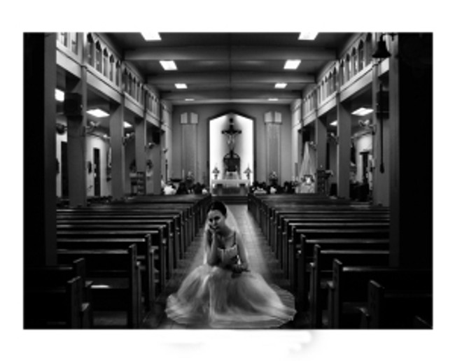 Being left at the altar is a lonely feeling.