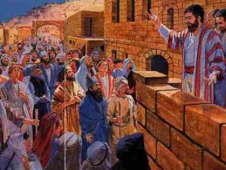 Ezekiel 37:1-14 - Prophesying to the soul